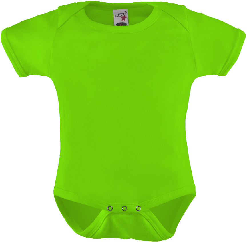 Edullinen vauvan body Lime