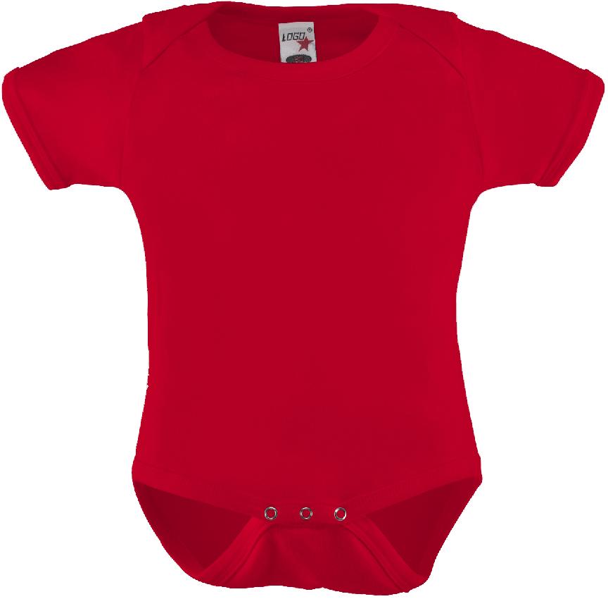Vauvan body Logo Punainen