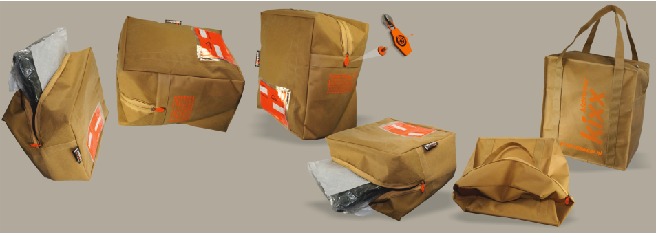 Packaging and sending bags