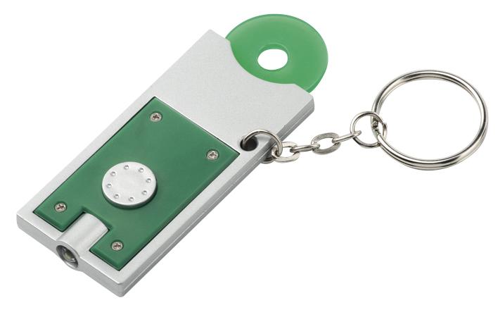 Avaimenperä LED-Poletti vihreä