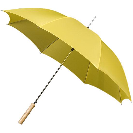 Golf sateenvarjo keltainen