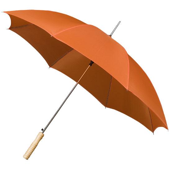 Golf sateenvarjot oranssi