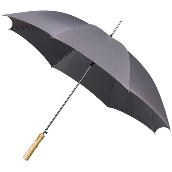 Golf sateenvarjot vaaleanharmaa