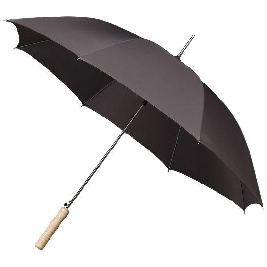 Golf sateenvarjot tummanharmaa