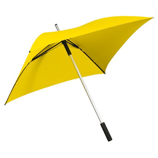 Neliönmuotoinen sateenvarjo Keltainen