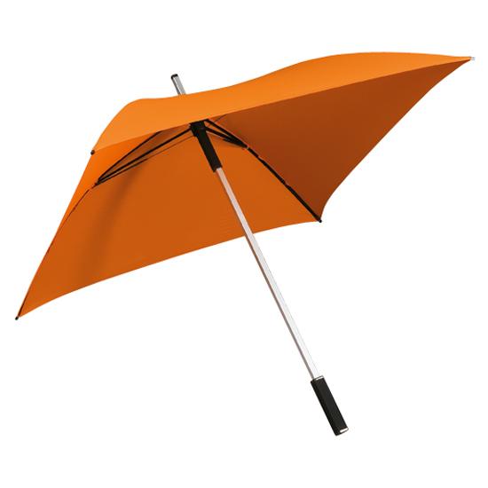 Neliönmuotoinen sateenvarjo Oranssi