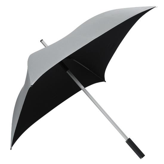 Neliönmuotoinen sateenvarjo Hopea
