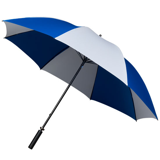 Golf sateenvarjot Valkoinen/Sininen
