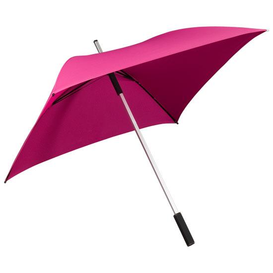 Neliönmuotoinen sateenvarjo Pink