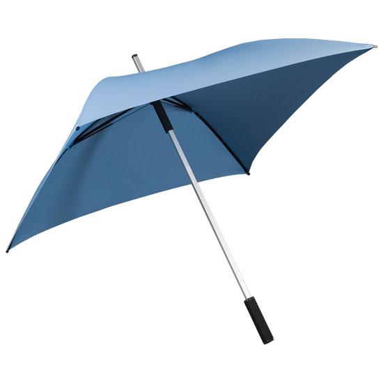 Neliönmuotoinen sateenvarjo Vaaleansininen