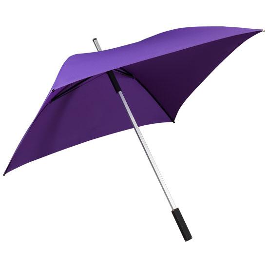 Neliönmuotoinen sateenvarjo Lila
