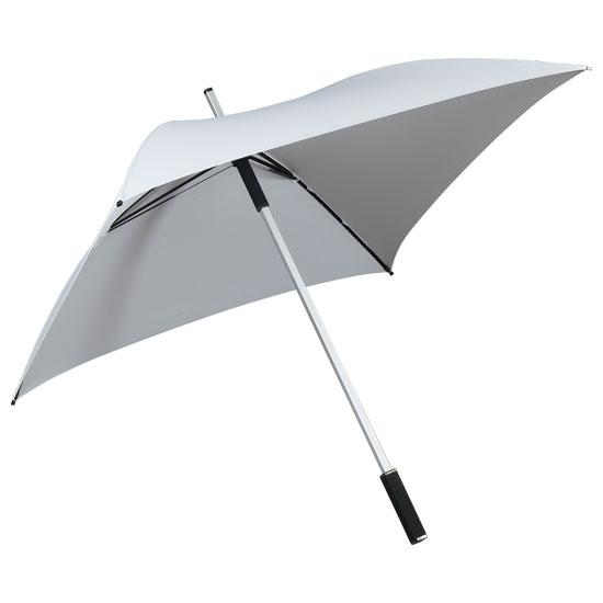 Neliönmuotoinen sateenvarjo Valkoinen