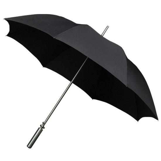 Golf sateenvarjot Musta