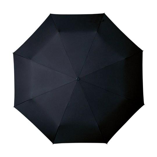 Tuulenkestävä lyhyt sateenvarjo auki