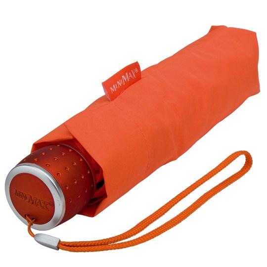 Tuulenkestävä lyhyt sateenvarjo Oranssi