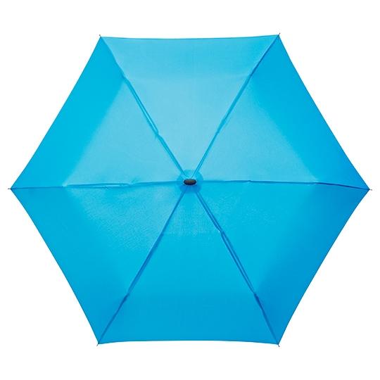 Litteä sateenvarjo 214 auki