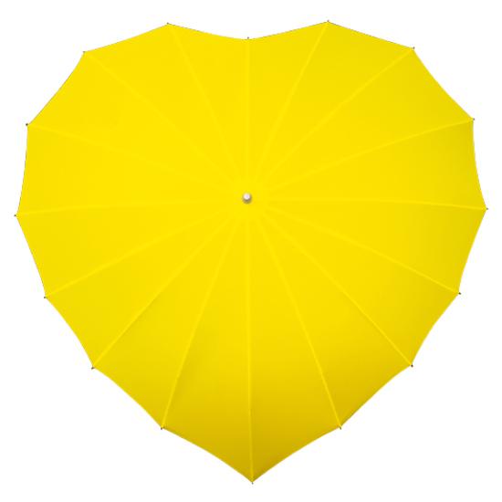 Sateenvarjot SYDÄN Keltainen