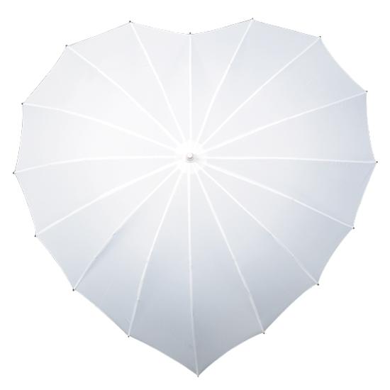 Sateenvarjot SYDÄN Valkoinen