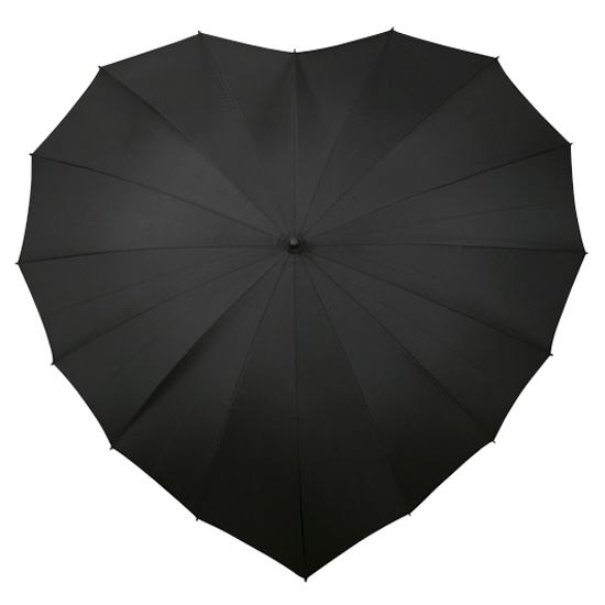 Sateenvarjot SYDÄN Musta