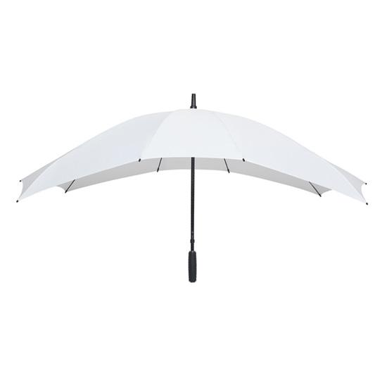 Twin sateenvarjo Valkoinen