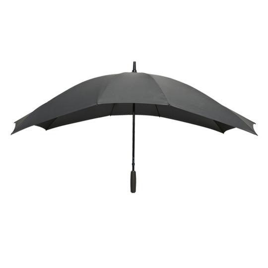 Twin sateenvarjo Tummanharmaa