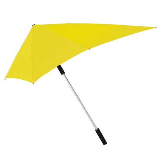 Myrskynkestävä sateenvarjo Keltainen