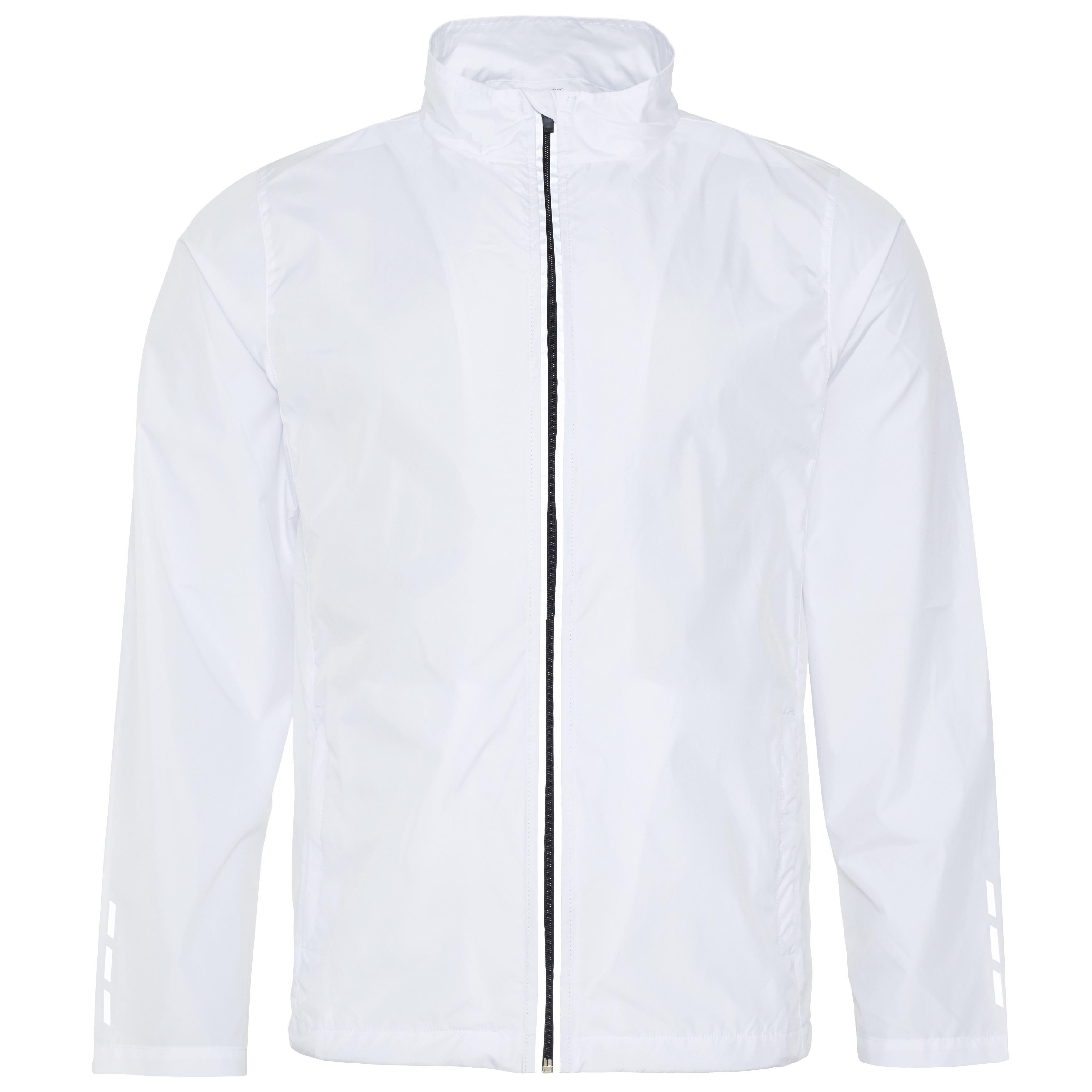 Juoksijan takki Cool, valkoinen