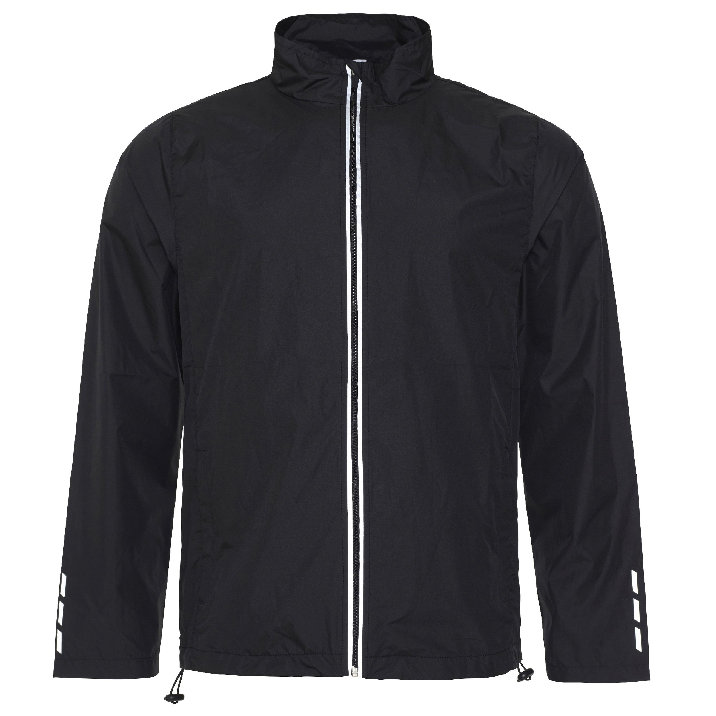 Juoksijan takki Cool, musta