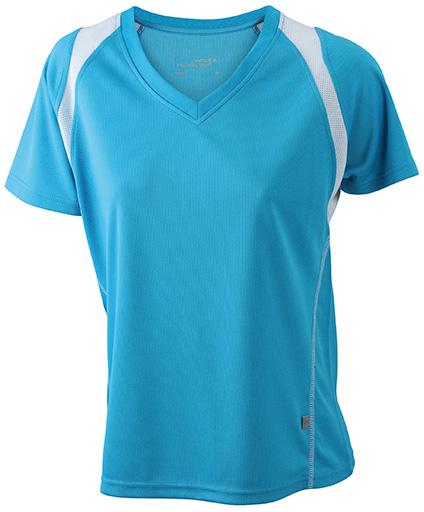JN396 Naisten tekninen paita, Turquoise