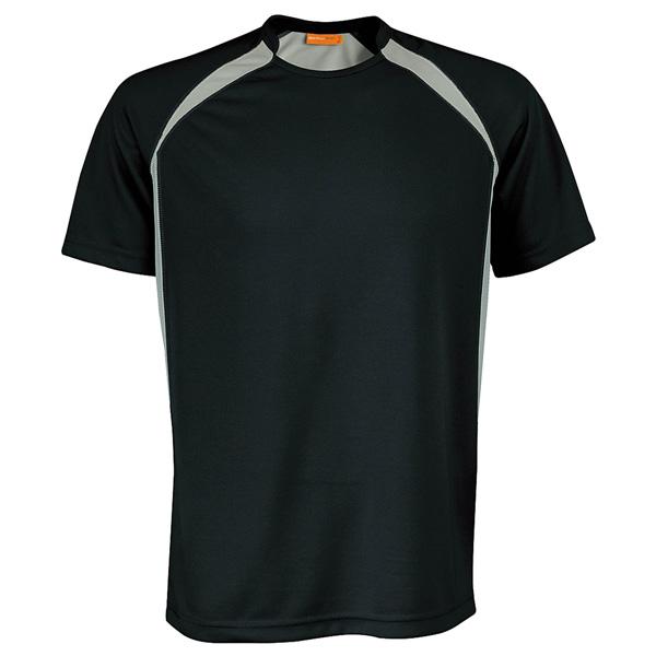 Tekninen T-Paita Sport musta-harmaa