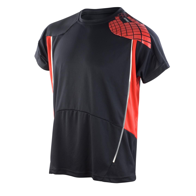 Urheilupaita Training, musta-puna