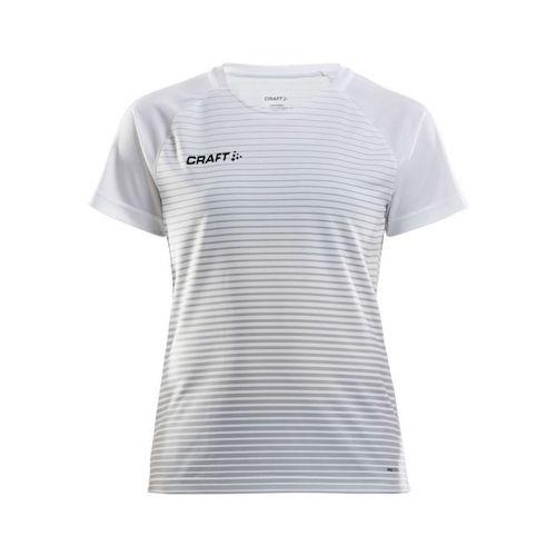Craft Pro Control raita paita valkoinen