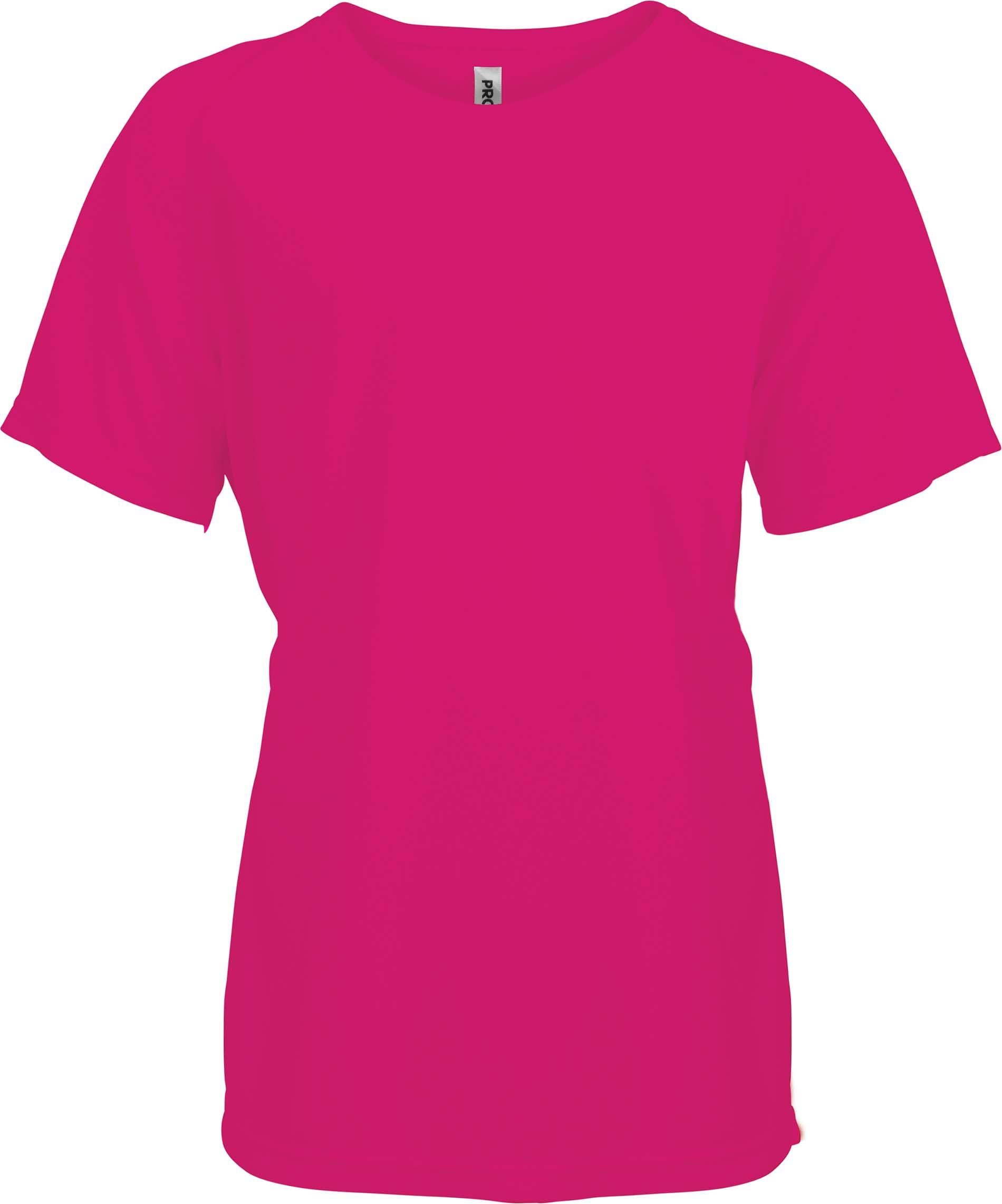 Lasten Proact T-paita PA445 Fuksia