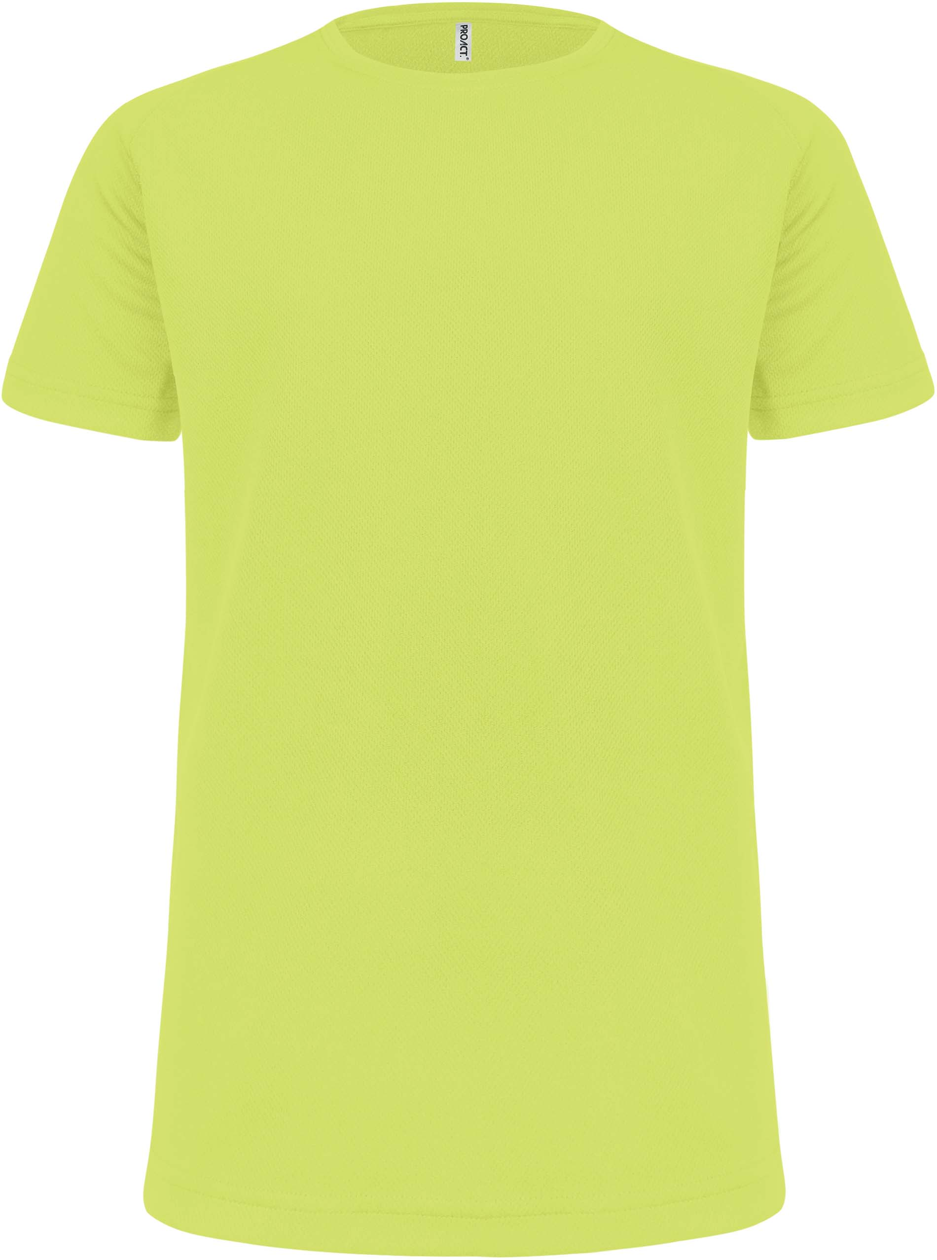 Lasten Proact T-paita PA445 Neon Keltainen