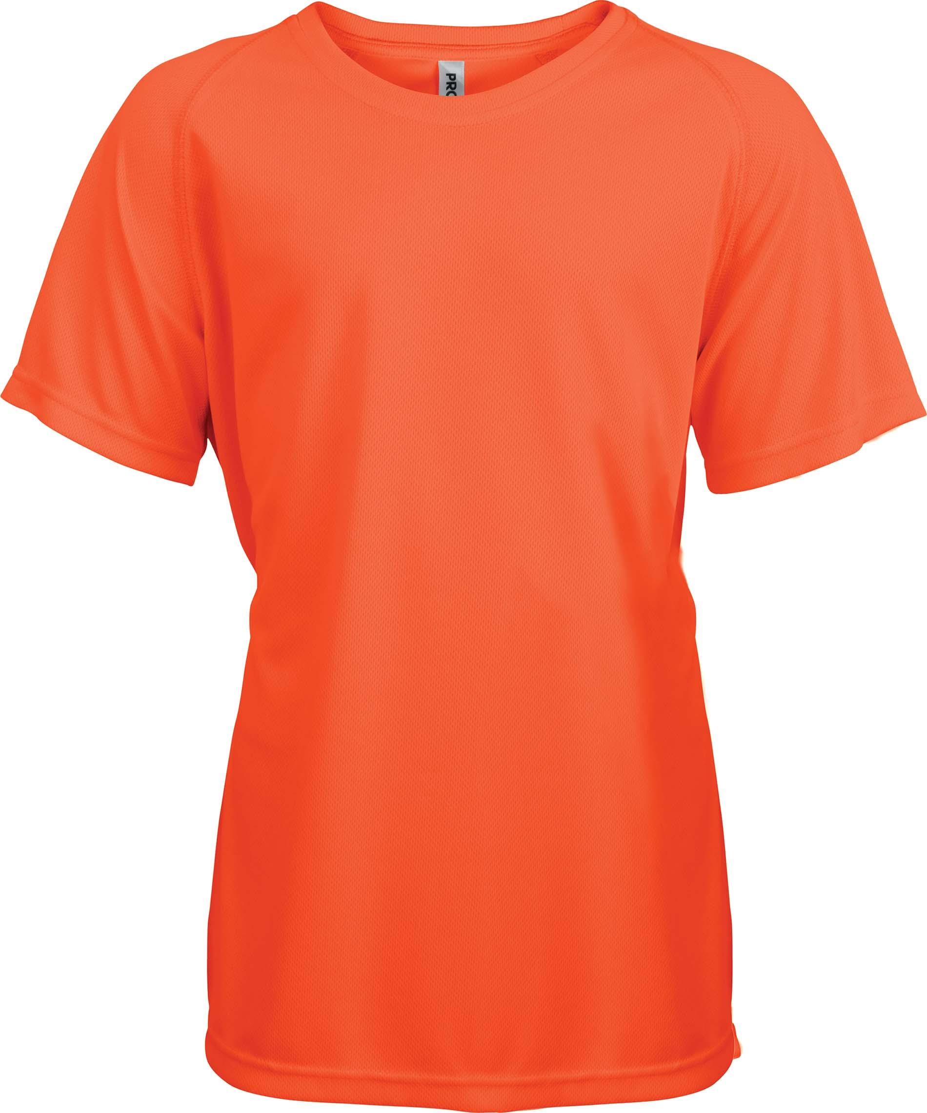 Lasten Proact T-paita PA445 Neon Oranssi