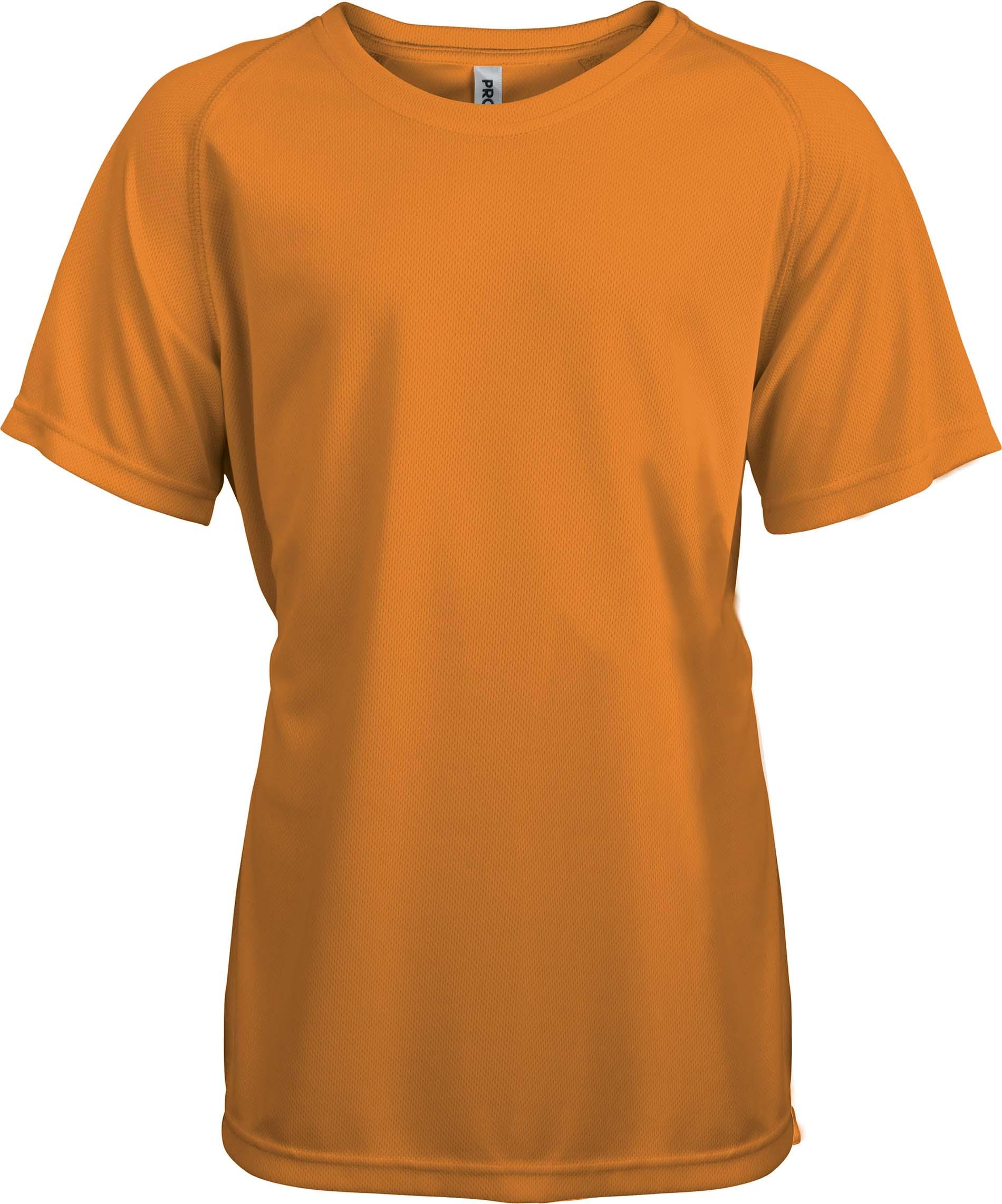 Lasten Proact T-paita PA445 Oranssi