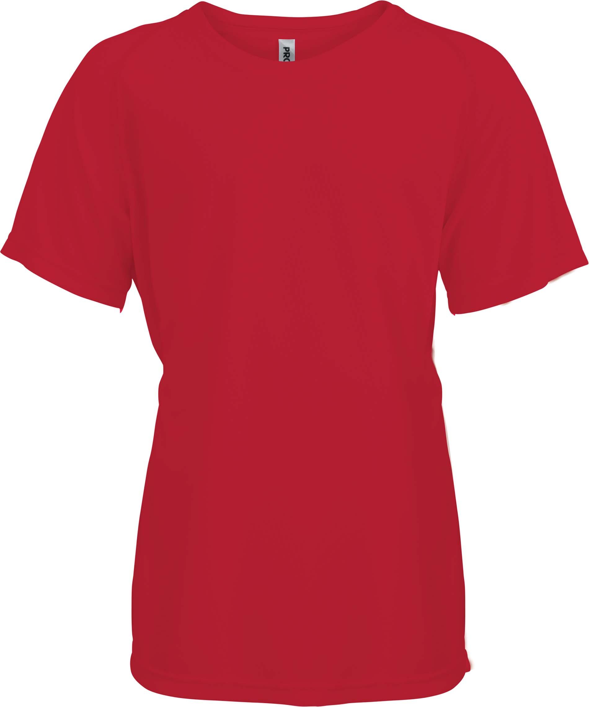 Lasten Proact T-paita PA445 Punainen