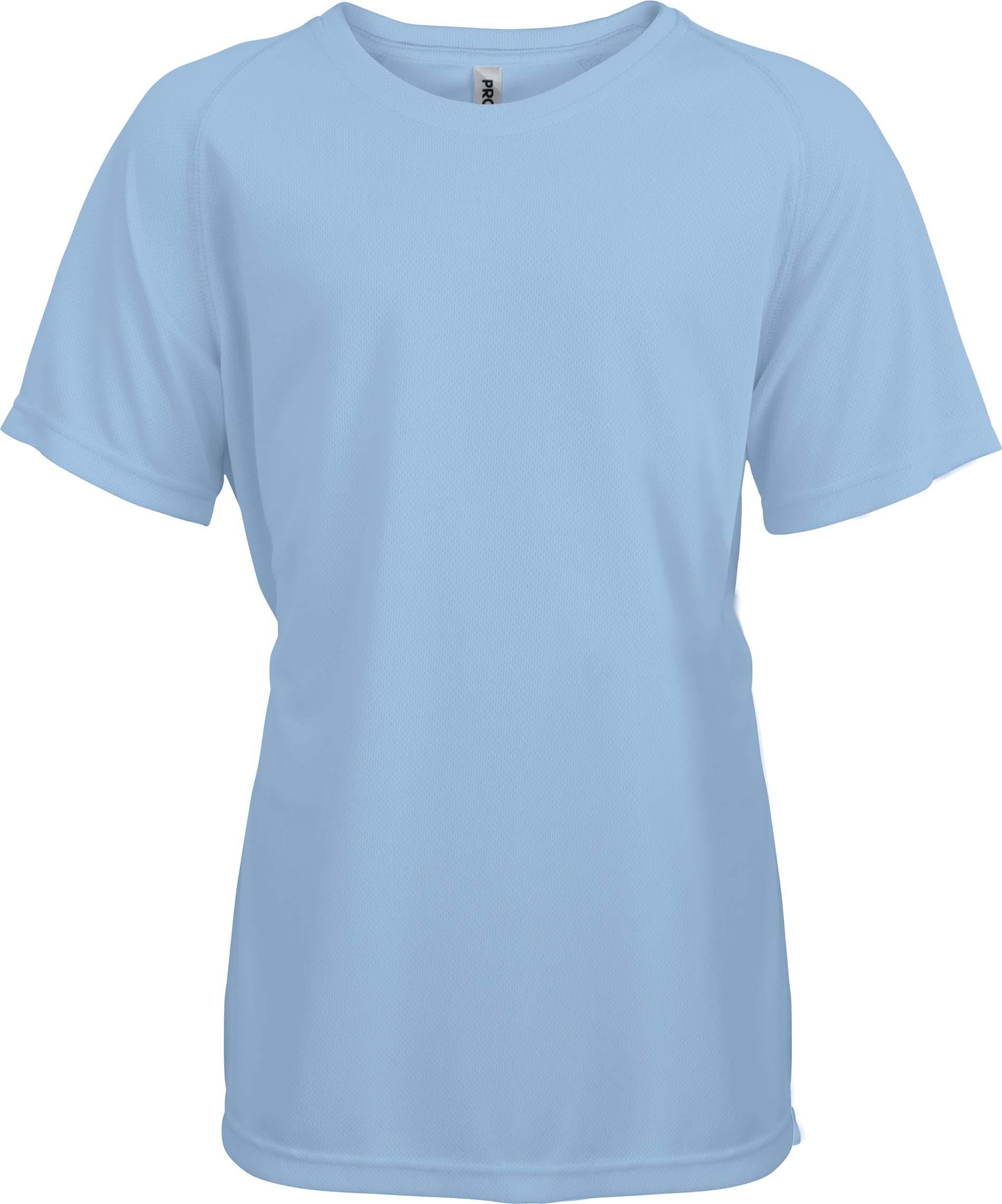 Lasten Proact T-paita PA445 Sky Blue