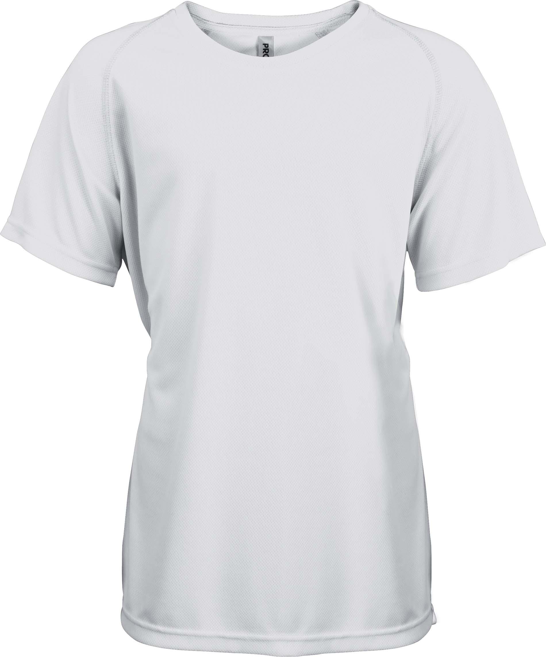 Lasten Proact T-paita PA445 Valkoinen