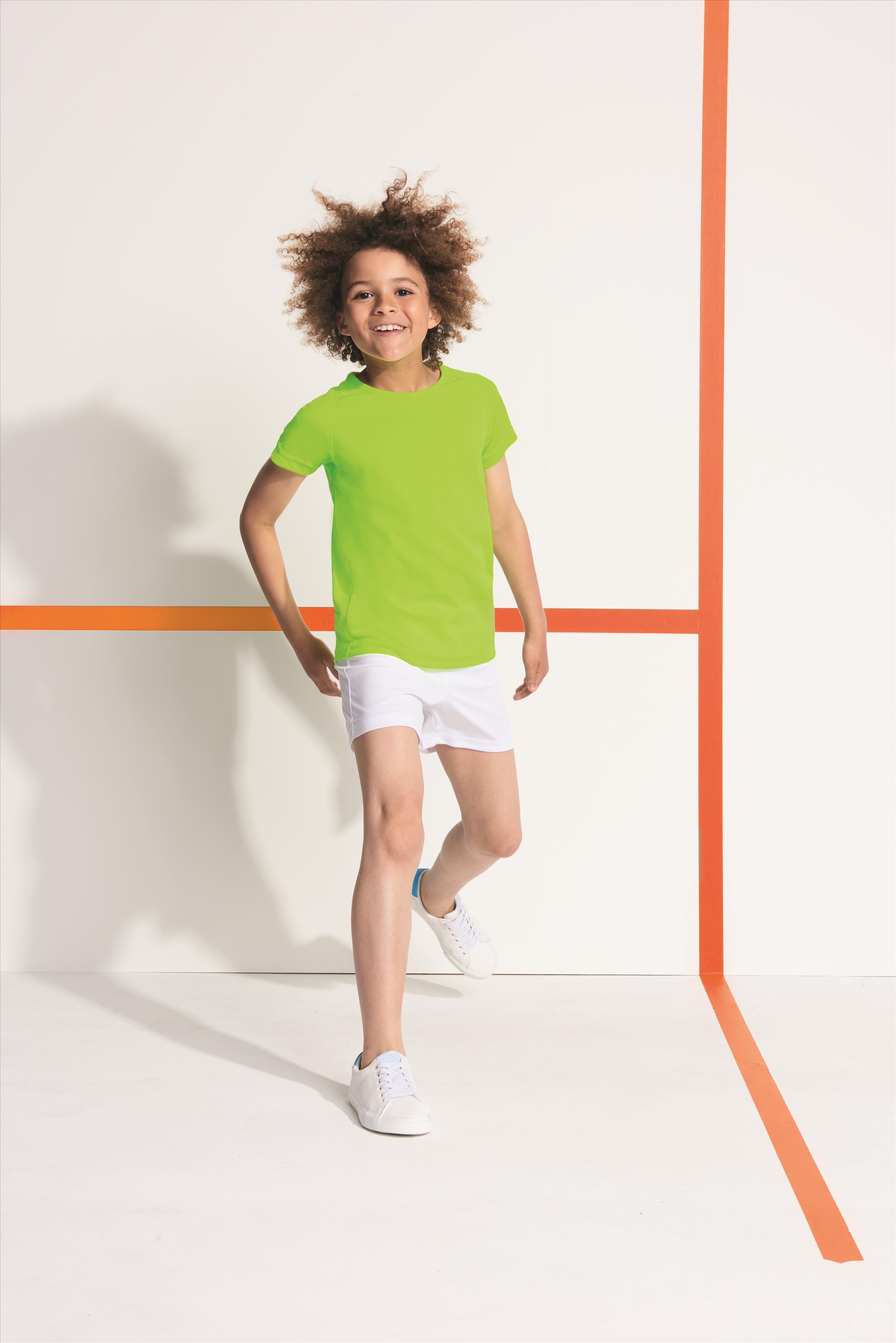 Lasten Sport t-paita Lime