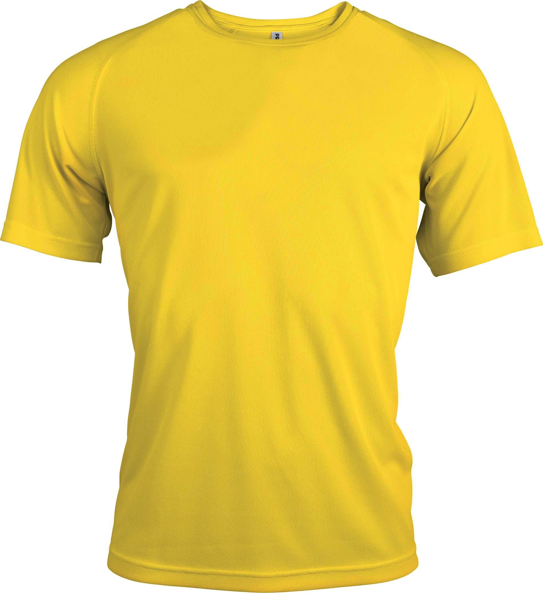 Proact T-paita PA438 Keltainen