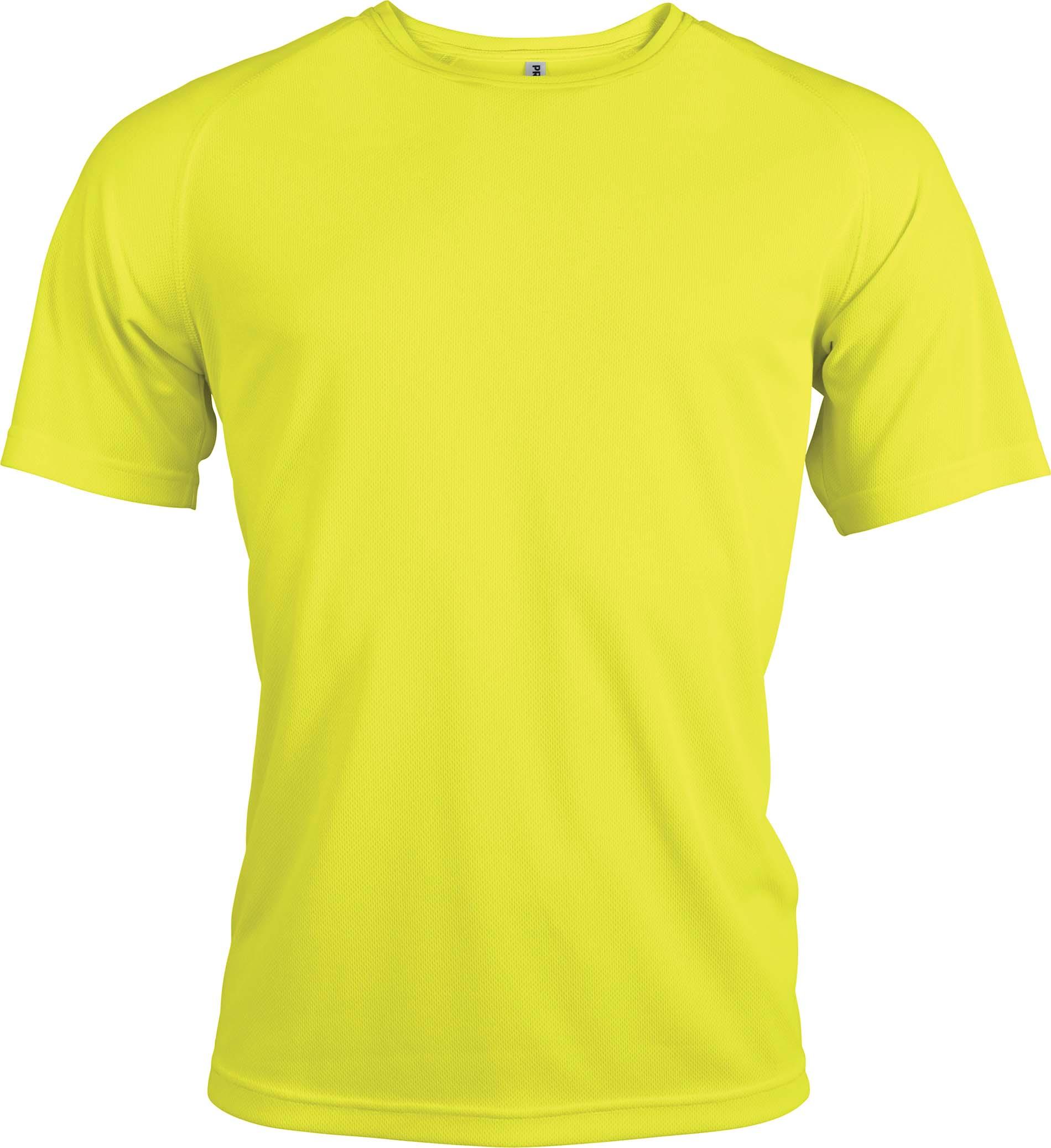 Proact T-paita PA438 Neon keltainen