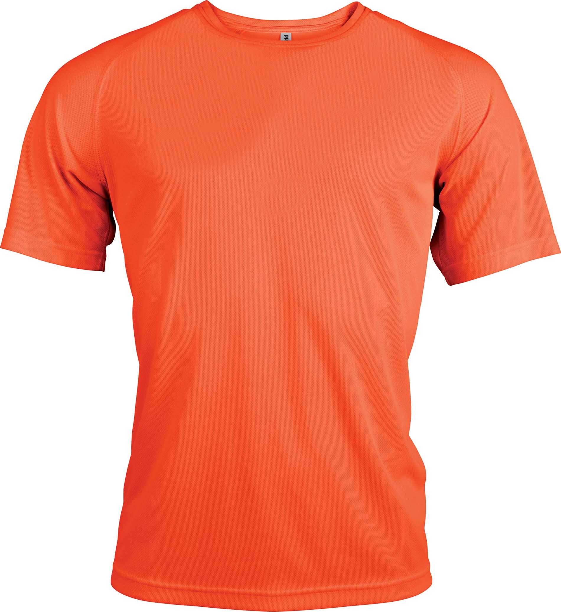 Miesten tekninen T-paita PA438 Neon Oranssi
