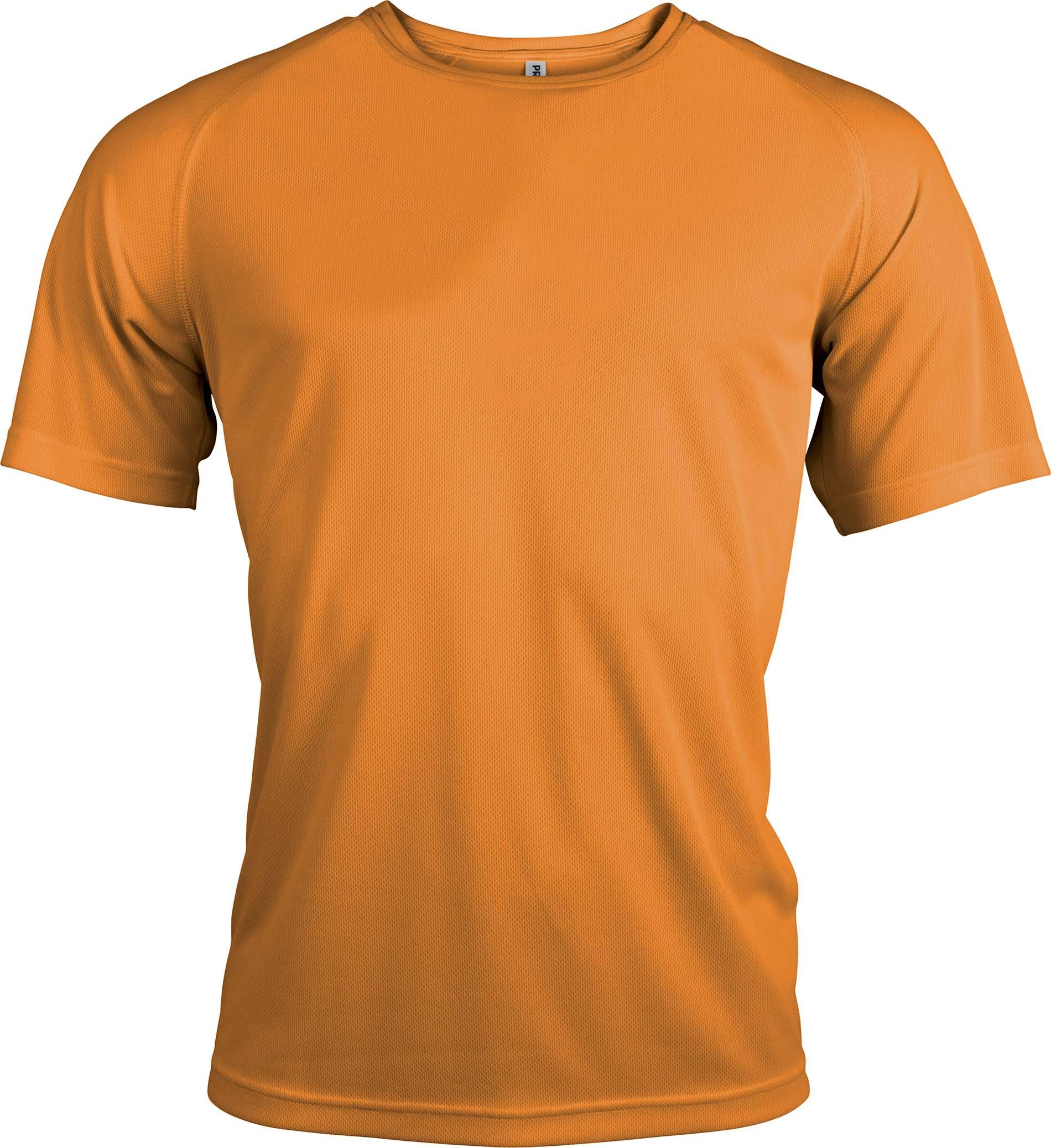 Miesten tekninen T-paita PA438 Oranssi
