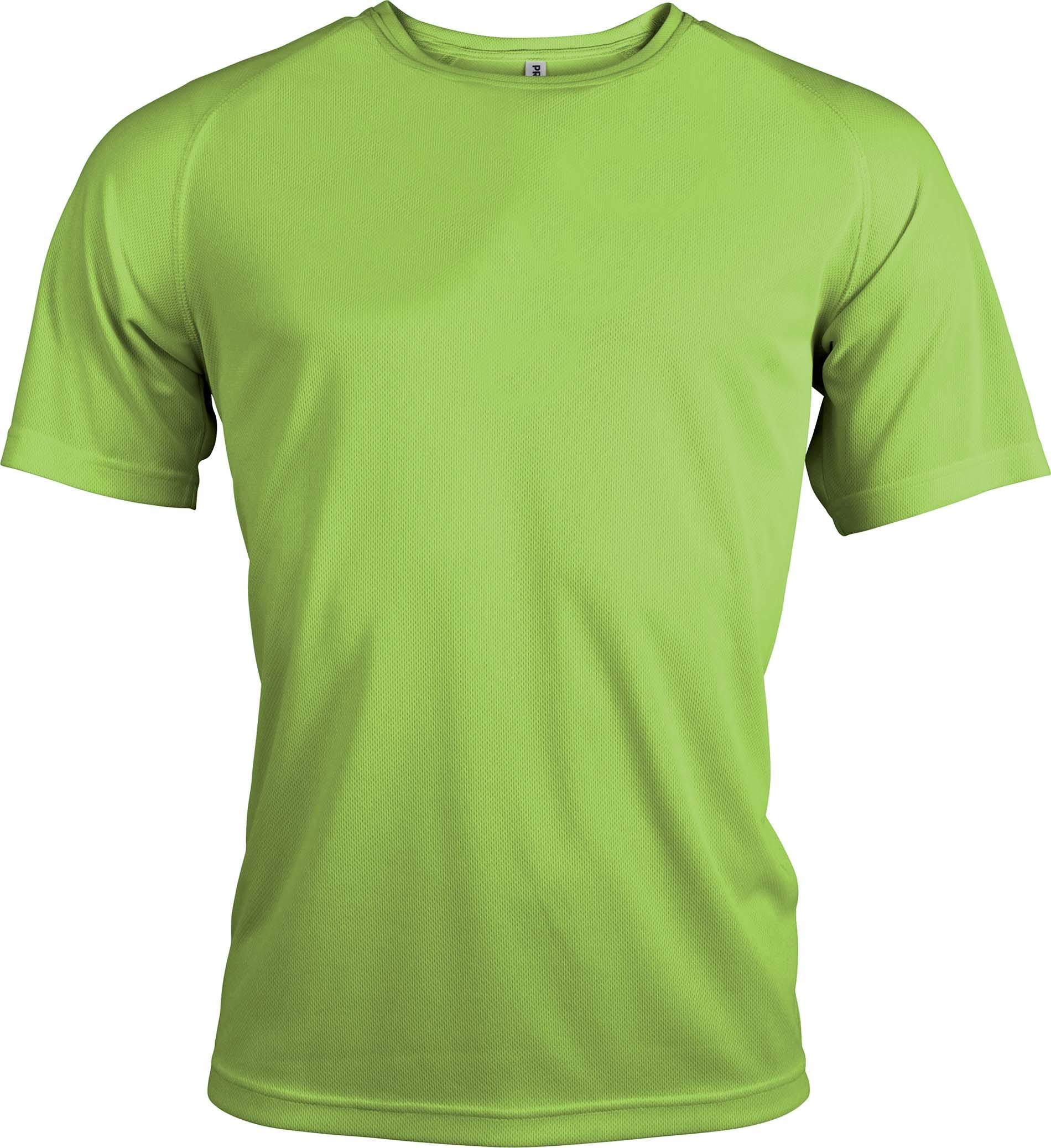 Miesten tekninen T-paita PA438 Lime