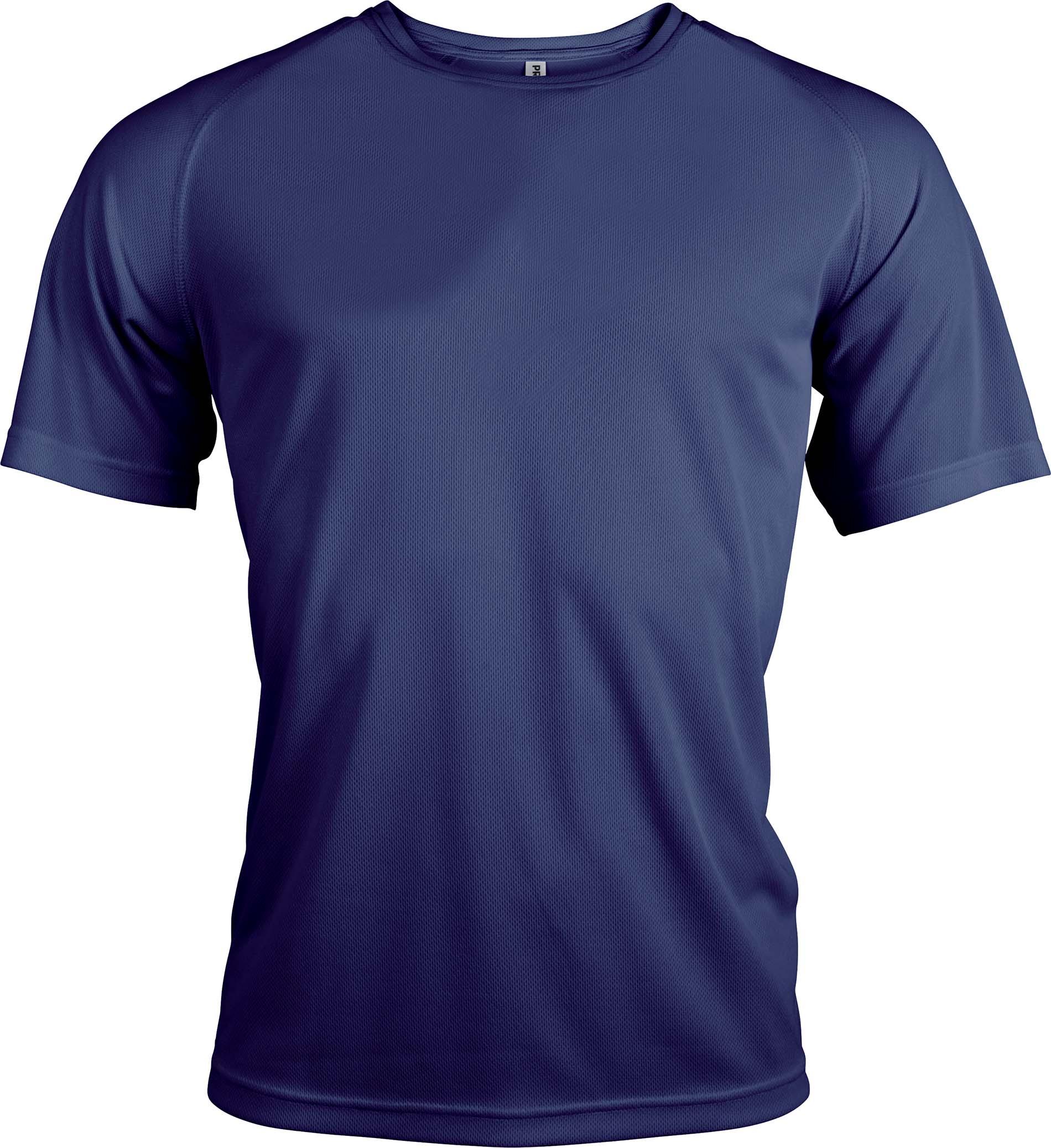 Miesten tekninen T-paita PA438 Navy