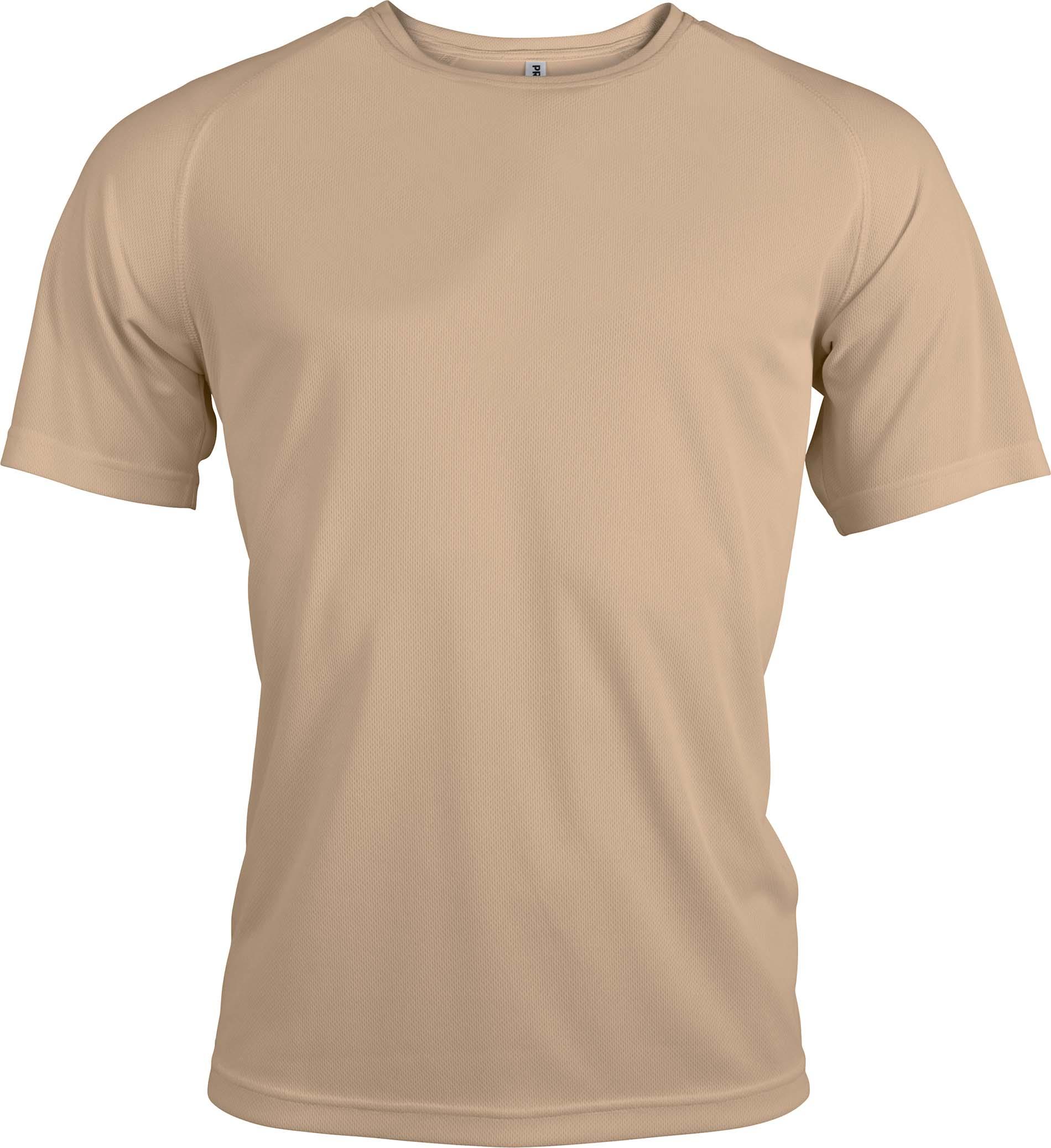 Miesten tekninen T-paita PA438 Sand