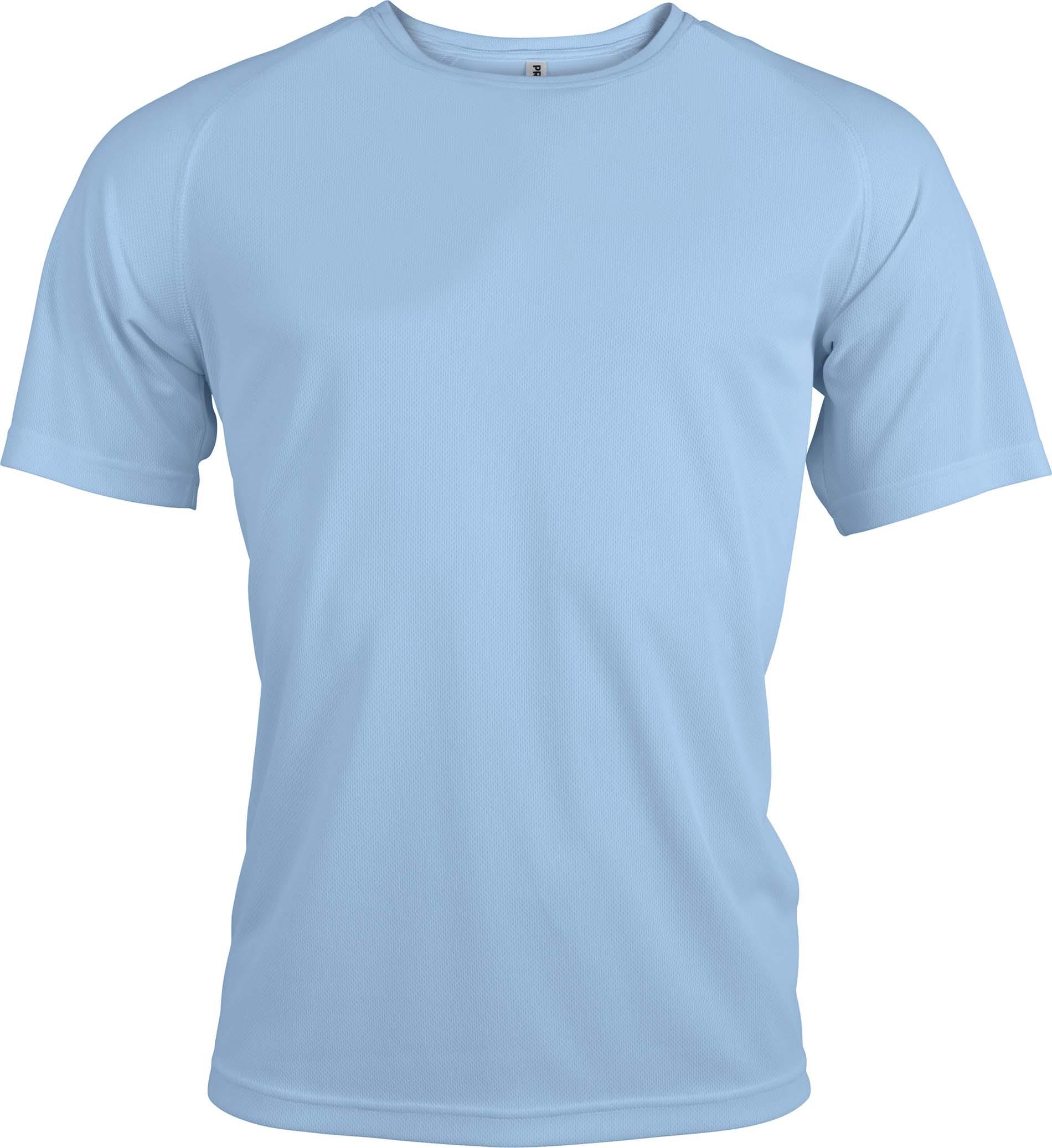 Miesten tekninen T-paita PA438 Sky blue