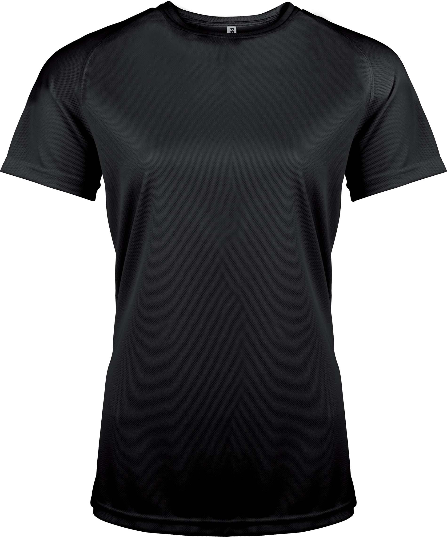 Naisten tekninen T-paita PA439 Musta