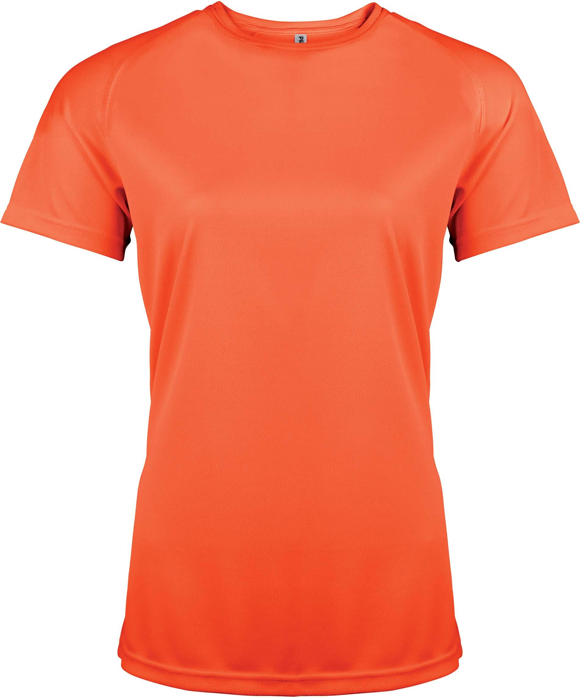Naisten tekninen T-paita PA439 Neon Oranssi